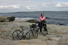 New England bicycle tour